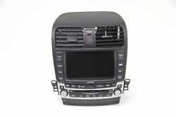 Acura TSX 6 Disc CD Changer Player Navigation Screen Radio Climate Control 06-08