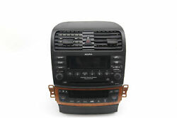 Acura TSX 6 Disc CD Changer Player XM Radio Climate Control 39175-SEC-L01, 2005