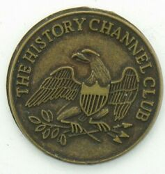 Collectible The History Channel Club Metal Bronze Coin Token Souvenir Us 1776