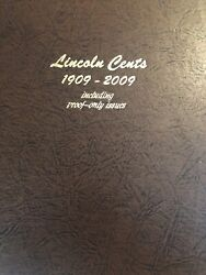 Lincoln Cents Complete Set With Proofs 1909-2017 Pds