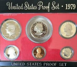 1979 Original Us Mint Proof Set Box And Card Great Birth Year Gifts