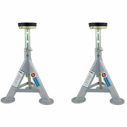 Esco 10498 3 Ton Adjustable Jack Stand With Removable Rubber Top 2 Pack