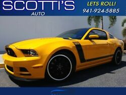 2013 Ford Mustang Boss 302~CLEAN CARFAX~ 5.0 V8 ENGINE~STRONG~ FL CA 2013 Ford Mustang School Bus Yellow with 48713 Miles available now!