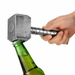 Hammer Beer Bottle Opener Multi-function Hammer Of Thor Shaped With Long Handle