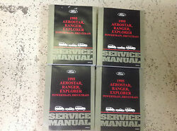 1995 Ford RANGER EXPLORER AEROSTAR TRUCK Service Shop Repair Manual Set NEW OEM