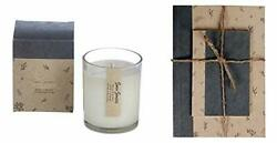Small Note Book Set Scented Luxury Fragrances Candle Large Oud Wood Use Gift Box
