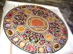 Marble Marvelous Floral Semi Precious Inlay Art Rare Decorative Restaurant H4361