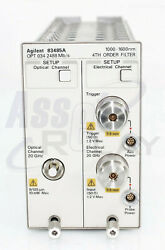 Agilent Hp 83485a Opt 034 Optical/electrical Plug-in Module For Dca