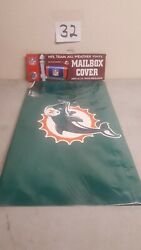 NEW Party Animal Miami Dolphins Mail Box Cover *FREE SHIPPING*