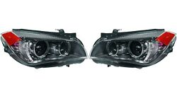 Pair Set Left And Right Genuine Akl Bi-xenon Adaptive Headlights Lamps For Bmw E84