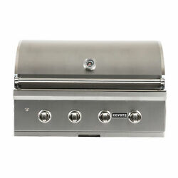 Coyote C2c36lp 36 Inch C Series 875 Sq In Stainless Steel Liquid Propane Grill