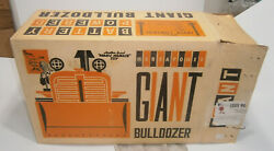 Vingate Giant Bulldozer Battery Powered Marx Box Only Excellent Condition 1950's