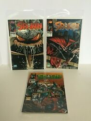 Spawn Comic Books Lot Of 3 September October November 1992 Excellent Condition