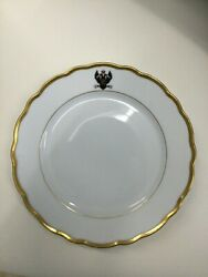 Antique Russian Imperial Plate From The Gd Konstantin Imperial Navys Service.