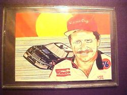 RARE? Dale Earnhardt Sr 1992 Sports Art Images Promo Card #3 G224