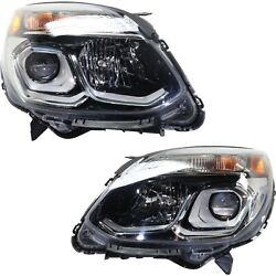 Headlight For 2016-2017 Chevrolet Equinox Driver And Passenger Side