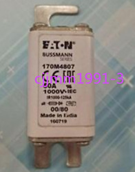 1pc New For Bussmann Square Body Fuse 170m4807 1000v 50a