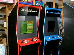 1299 In One Coin Operated Arcade Game New Cabinet / Updated Electronicsred