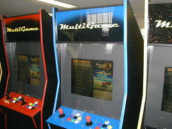 1299 In One Coin Operated Arcade Game New Cabinet / Updated Electronicsblue
