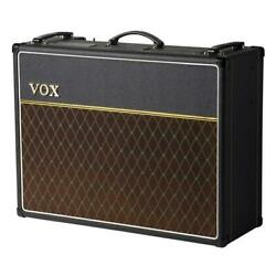 Vox Ac30c2x 2x12 Combo Guitar Amplifier With Celestion Blue Alnico Speakers