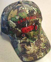 Farmall H/m Embroidered Camo Hat 4 Types