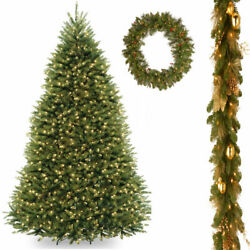 9' Dunhill Fir Hinged Tree with 6' x 12