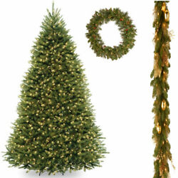 10' Dunhill Fir Hinged Tree with 6' x 12