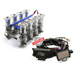 Chevy Gm Ls3 Efi Manifold And Fast Ez-efi 2.0 Self-tuning Fuel Injection System