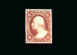 Us Stamp Mint No Gum Vf/xf S10a Exceptionally Bold And Fresh Oxydized Color