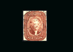 Us Stamp Used, Vf S12 Very Light 1859 Cancel, Excellent Color