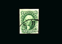 Us Stamp Used Vf S13 Pse Certificate Light Town Cancel Very Fresh