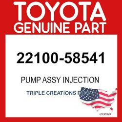 Toyota Genuine 2210058541 Pump Assy Injection Or Supply 22100-58541