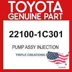 Toyota Genuine 221001c301 Pump Assy, Injection Or Supply 22100-1c301