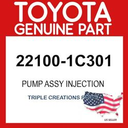 Toyota Genuine 221001c301 Pump Assy Injection Or Supply 22100-1c301