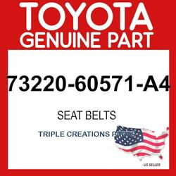 Toyota Genuine 7322060571a4 Belt Assy Front Seat Outer Lh 73220-60571-a4