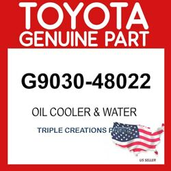 Toyota Genuine G903048022 Oil Cooler And Water G9030-48022