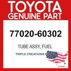 Toyota Genuine 7702060302 Tube Assy Fuel Suction W/pump And Gage 77020-60302