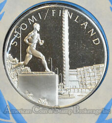 Silver United Nations Mealds Of The World Finland Offical Issue Cover