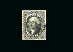 Us Stamp Used, Xf S17 Light Paid Cancel, Fresh Color