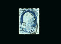 Us Stamp Used F/vf S23 Andnbspattractive Light Cancel Fresh Stamp