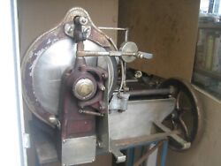 Antique Hand Crank Deli Meat Slicer Made By American Eagle Patent Date 1921