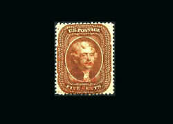 Us Stamp Used, Vf S30 Real Beauty, Light Red Cancel Scarce This Nice
