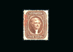 Us Stamp Used, Super B S30 A  Gem Quality With A Very Light Red Cancel, Tiny