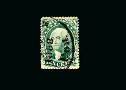 Us Stamp Used, Vf S31 1858 Con. Cancel, Very Nice Stamp