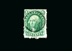 Us Stamp Used, F/vf S31 attractive Fancy Grid Cancel