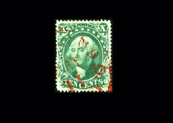 Us Stamp Used, Xf S32 Beautiful May 11th Red Town Cancel