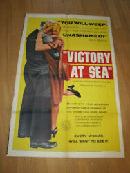 Victory At Sea 1sh 1954 Wwii Documentary War