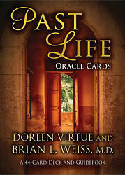 Past Life Oracle Cards 44-card Deck And Guidebook - Doreen Virtue Discontinued