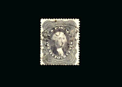 Us Stamp Used, Vf/xf S37 Light Cancel, Exceptional Quality Stamp