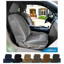 Seat Covers Velour For Fiat 500 Coverking Custom Fit